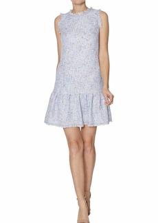 LAUNDRY BY SHELLI SEGAL Women's Tweed Drop Waist Dress