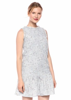 Laundry by Shelli Segal Women's Tweed Dropwaist Dress