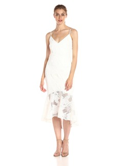 laundry BY SHELLI SEGAL Women's Venise Slip Cocktail Dress