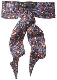 LAUNDRY BY SHELLI SEGAL Women's Wildflower Necktie Scarf