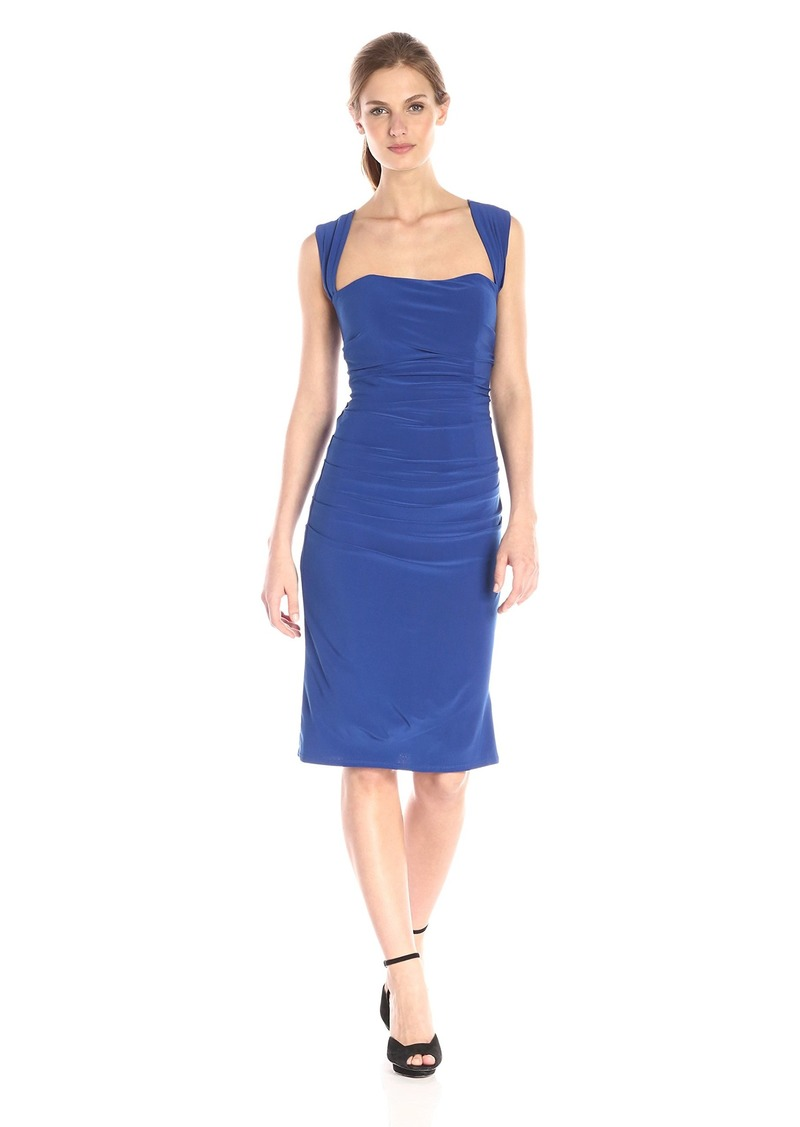 laundry BY SHELLI SEGAL Women's X Back Jersey Cocktail Dress