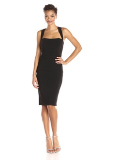 Laundry by Shelli Segal Women's X-Back Jersey Cocktail Dress