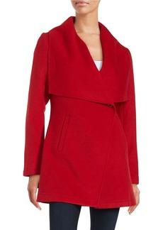 LAUNDRY BY SHELLI SEGAL Wool-Blend Coat
