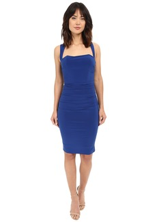 Laundry by Shelli Segal X-Back Jersey Cocktail Dress