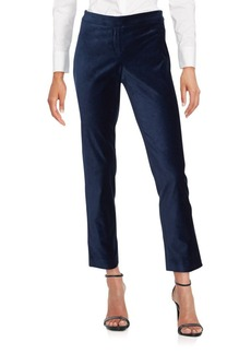 Laundry by Shelli Segal Zipped Stretch Cropped Pants