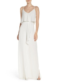Laundry by Shellie Segal Chiffon Popover Slipdress