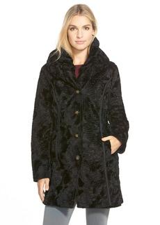 Laundry by ShelliSegalReversible FauxPersian Lamb Fur Coat (Regular & Petite)