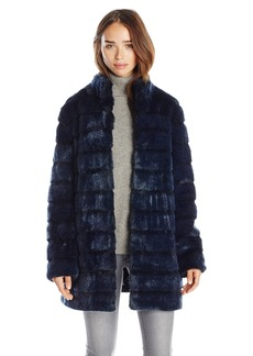 Laundry Women's Faux Fur Coat  mall
