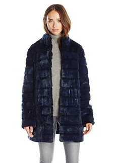 Laundry Women's Faux Fur Coat  edium