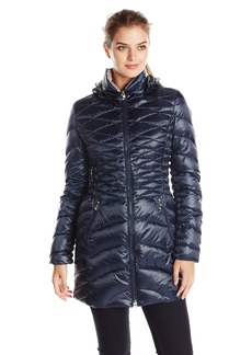 Laundry Women's Packable Down Jacket with Hood