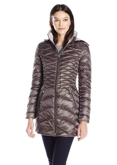 Laundry Women's Packable Down Jacket with Hood  X-Large