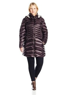 Laundry Women's Plus-Size Plus Size Reversible Packable Down Coat