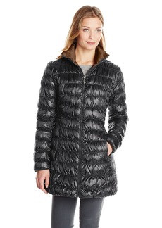 Laundry by Shelli Segal Laundry Women's Reversible Packable Down Coat