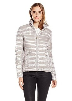 Laundry Women's Short Packable Down Jacket  X-Large