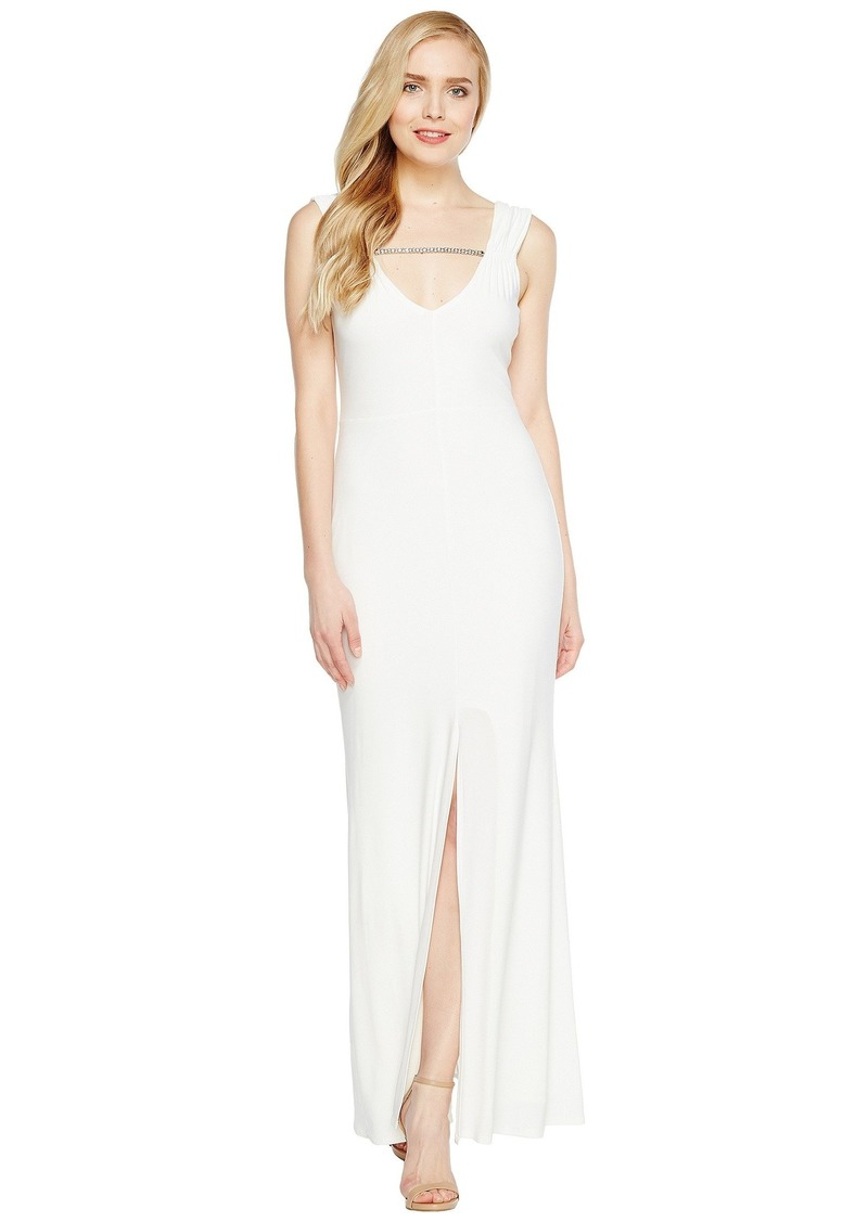 Laundry by Shelli Segal MJ Embellished Gown
