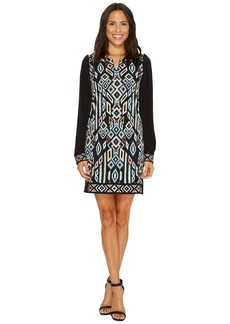 Laundry by Shelli Segal MJ Print with Embroidery