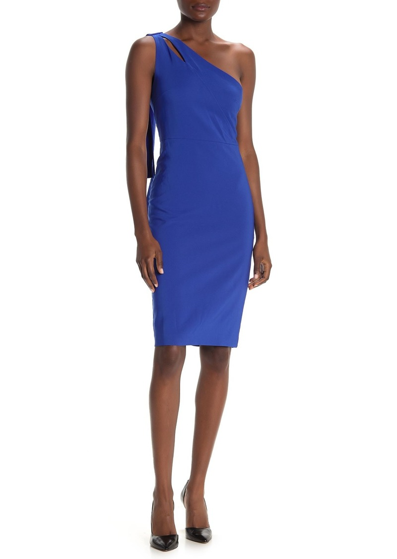Laundry by Shelli Segal One-Shoulder Cut Out Dress