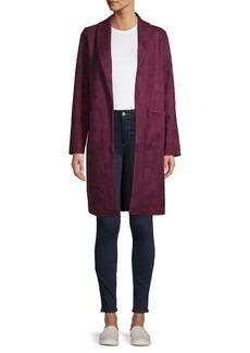 Laundry by Shelli Segal Open-Front Long Jacket