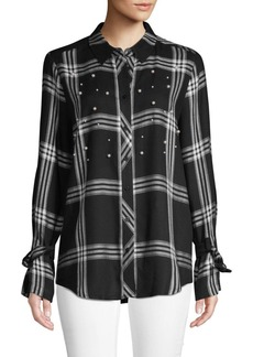 Laundry by Shelli Segal Plaid Button-Down Shirt