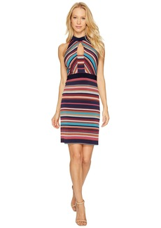 Laundry by Shelli Segal Printed Stripe Sheath Dress