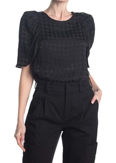 Laundry by Shelli Segal Puff Sleeve Top