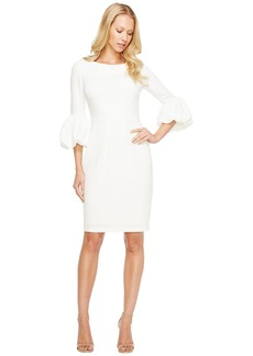 Laundry by Shelli Segal Puffy Sleeve Dress