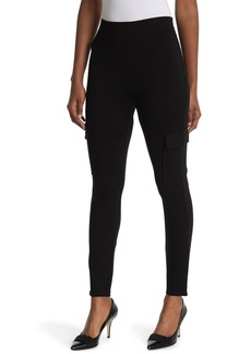Laundry by Shelli Segal Pull-On Cargo Ponte Pants