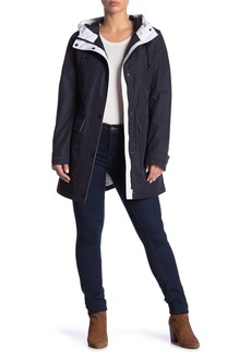 Laundry by Shelli Segal Rain Tech Flap Pocket Jacket