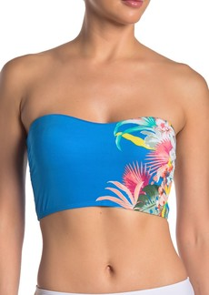Laundry by Shelli Segal Rainflorist Bandeau Bikini Top