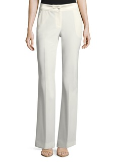 Relaxed Flared-Leg Pants