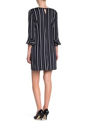 Laundry by Shelli Segal Reversible Jersey Knit Mini Dress
