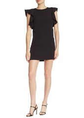Laundry by Shelli Segal Ruffle Sleeve Mini Dress