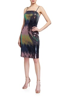 Laundry by Shelli Segal Sequin Sheath Dress