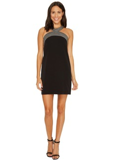 Laundry by Shelli Segal Shift Dress with Embroidery