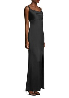 Laundry by Shelli Segal Strappy Satin Gown