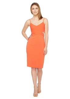 Laundry by Shelli Segal Stretch Crepe Cocktail Dress