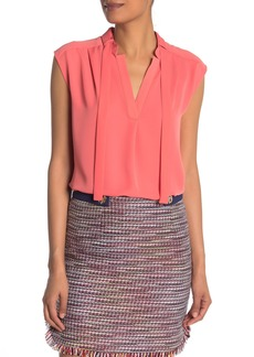 Laundry by Shelli Segal Tie Neck Shell Top