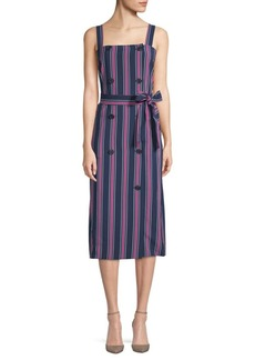 Tie Waist Stripe Dress