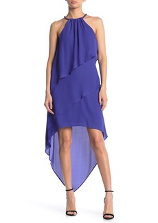 Laundry by Shelli Segal Tiered Hi-Low Dress