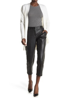 Laundry by Shelli Segal Vegan Leather Trousers