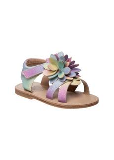 Laura Ashley Big Girls Flower Sandals