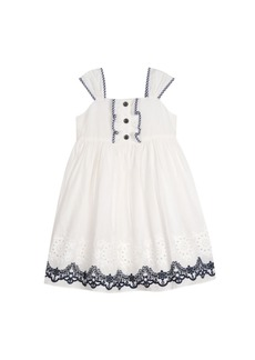 Laura Ashley London Girls Eyelet Dress