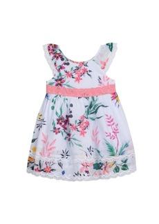 Laura Ashley Flutter Sleeve Dress