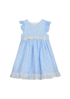 Laura Ashley Ruffle Sleeve Party Dress