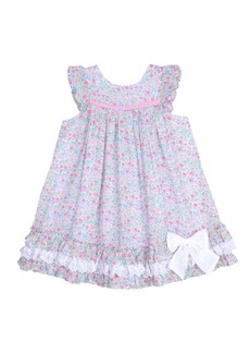 Laura Ashley London Girls Ruffle Sleeve Party Dress