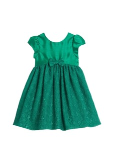 Laura Ashley Little and Toddler Girls London Lace Holiday Dress