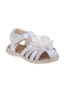 Laura Ashley Little Girls Closed Toe Fashion Summer Sandals