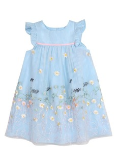 Laura Ashley Little Girl's Embroidered Organza Party Dress