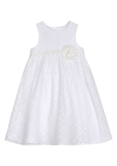 Laura Ashley Little Girl's Lace Cotton Blend Dress
