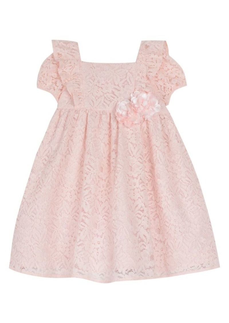 Laura Ashley Little Girl's Lace Cotton Blend Dress